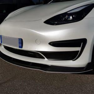 Model 3 Lame de par choc sport avant pour Tesla Model 3 avant