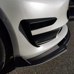 Promotions Inserts d'antibrouillards avant pour Tesla Model 3 carbone