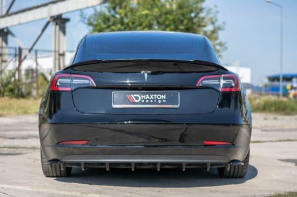 Extérieur Diffuseur arrière MAXTON Design pour Tesla Model 3