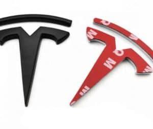 Model 3 2021 Logos avant et arrière de remplacement Pour Tesla Model 3