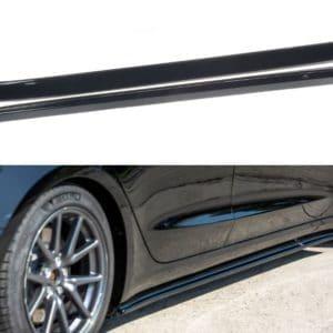 Model 3 2021 Bas de caisse latéraux MAXTON Design pour Tesla Model 3 bas de caisse