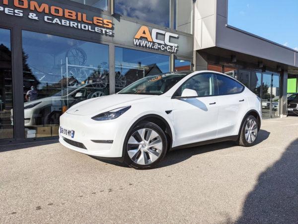 Location Tesla Model Y